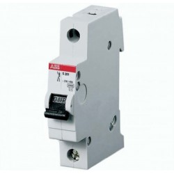 Автоматический выключатель однополюсный АВВ SH201L C6